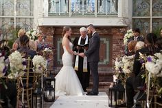 Ceremony decor  (Flowers by Lee Forrest Design, photo by: Francine & Lionel Photography)