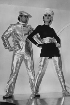 Pierre Cardin, 1968, Space-age fashion