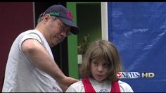 10-year-old Naomi Kutin breaks world squat powerlifting record--weighs 97 lbs, lifted 215.