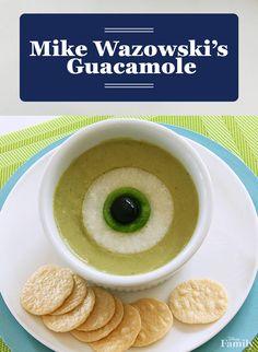 Mike Wazowski's Guacamole Recipe Annette@wishesfamilytravel.com