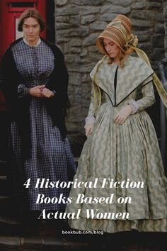 Love learning about inspiring women? Then check out these historical fiction books based on fascinating real women.  #books #historicalfiction #realwomen