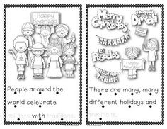 Holiday Traditions Around The World - Mini Unit based on learning ...