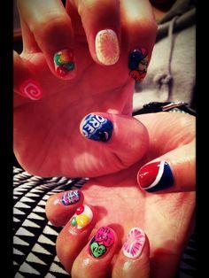 Happy Valentine's nails