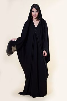 Arabian Gulf Asyl Farasha Abaya, Black [ARB-005] price, review and buy in UAE, Dubai, Abu Dhabi | Souq.com