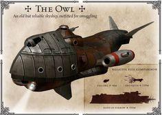 aye, a skyship!