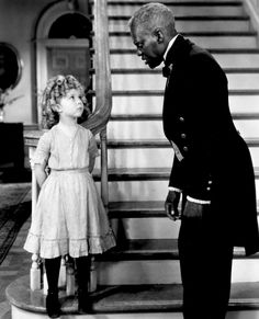 Shirley Temple and Bojangles  I love their scenes together