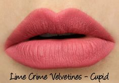 Lime Crime True Love Velvetines Set - Cupid Swatches & Review