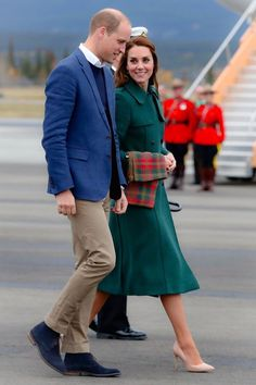 The Duke and Duchess of Cambridge arrive in Whitehorse during their tour of Canada // September 27, 2016