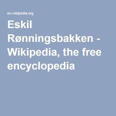 Eskil Rønningsbakken - Wikipedia, the free encyclopedia
