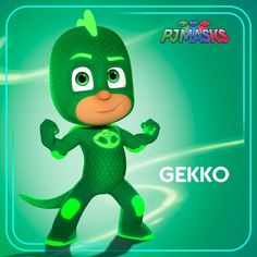 He's strong, he's sticky, he's a master of camouflage – and he's ready to save the day! Watch out, here comes the mighty Gekko! #pjmasks #gekko #disneyjunior