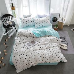 Brand Name: SOLSTICE Filling: None Type: Sheet, Pillowcase & Duvet Cover Sets Grade: Quality Material: Polyester / Cotton Pattern: Printed Style: Modern Use: Home Technics: Woven Pattern Type: Geometric Application Size: 1.35m (4.5 feet),1.5m (5 feet),1.8m (6 feet),2.0m (6.6 feet) Fabric Density: 128X68 Fabric Count: 30 Thread Count: 100TC Model Number: 08191530 Color Fastness (Grade): 4 Weight: 1.5KG is_customized: No Quantity: 3 / 4pcs