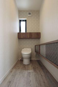 池下建設が自社で造った家具です。 トイレ収納棚