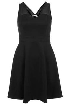 **Skater Dress With Sweetheart Neckline by Rare