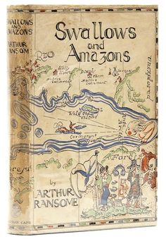 Swallows and Amazons... Many happy hours spent reading this series.