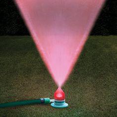 Light show sprinkler