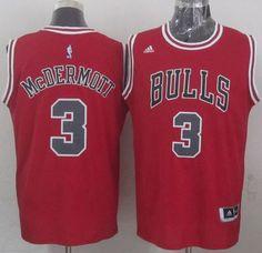 2de3c730f Chicago Bulls Doug McDermott Revolution 30 Swingman 2014 New Red Jersey