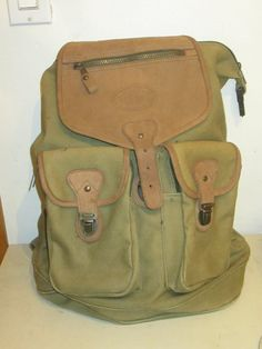 Vintage army High Sierra green and brown Large by Simplemiles