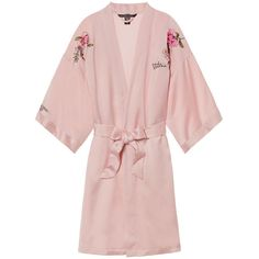 Fashion Show 2017 Robe - Victoria's Secret ($100) ❤ liked on Polyvore featuring intimates, robes, sexy dressing gown, victoria's secret, victoria secret robe, dressing gown and bath robes