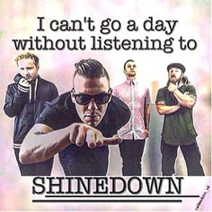 #Repost @callmekim_sd: FACT!!! Love you guys more than you could ever possibly know #Shinedown <3 - http://ift.tt/1LfZqTj