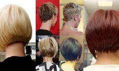 45 viste posteriori del vostro nuovo taglio di capelli corti!