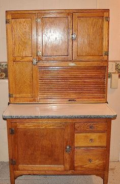 vintage wood kitchen cabinets antique kitchen cabinets with flour bin antiqued kitchen cabinets pictures and photos antique kitchen pantry antique kitchen cabinets salvage antique pantry cupboard antique hoosier cabinets for sale vintage enamel top kitchen cabinet #vintagekitchen
