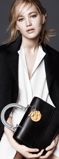 Jennifer Lawrence for Dior Accessories F/W 2015