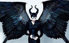 Angelina Jolie in Maleficent (2014) Wallpaper