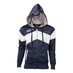 Bioworld - Sweat-Shirt Assassin's Creed Unitu - Hoodie Bleu/Blanc Taille M - 8718526041972, http://www.amazon.ca/dp/B00O13Q4OI/ref=cm_sw_r_pi_awdl_9vpRvb2G7HCZQ