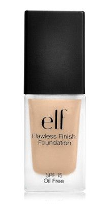 This is one of my favorites on e.l.f.: Flawless Finish Foundation. Use this special link and get five dollars off.