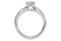 Radiant Cut Tapered Channel-Set Diamond Band Engagement Ring in Platinum 0.38 CTW - Frontview1?w=640&h=430&fit=fill&fm=jpg&q=65&bg=fff