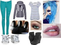"""""""Blue"""" by louisa-tomlinson on Polyvore"""