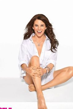 Lauren Graham - I still miss Gilmore Girls. Thank goodness for Parenthood.