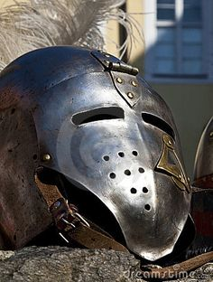 Knights Helmet  middle ages  Full Combat Faceguard