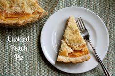 Christina's Cucina: Custard Peach Pie