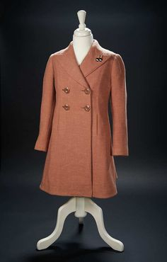Brown Woolen Coat Worn by Shirley Temple for Publicity Events $500+