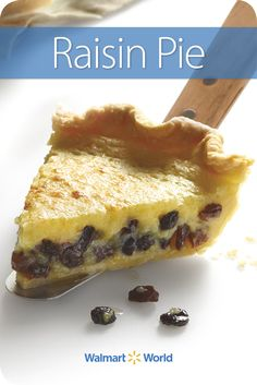 Rita M. of Store 775 in Galesburg, Ill., found the recipe for her Raisin Pie on the back of a sour cream container in 1986, and it's become a family favorite. #dessert #holidays