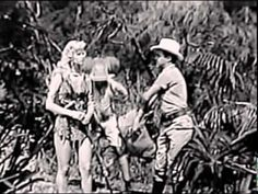 """Sheena Queen of the Jungle """"Touch of Death"""" (1955)"""