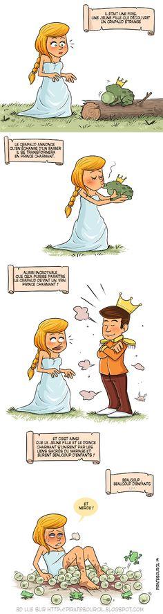 Une histoire de princesse et de crapaud  PirateSourcil