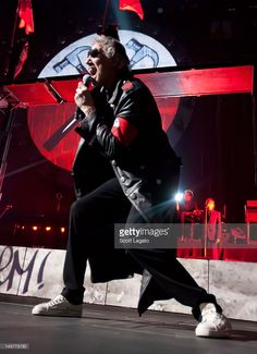 Roger Waters performs 'The Wall LIVE' at Joe Louis Arena on June 5, 2012 in Detroit, Michigan.
