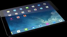 Future technology Сoncept the large and very powerful Apple iPad pro