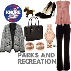 My creation inspired by Parks and Recreation character Leslie Knope.