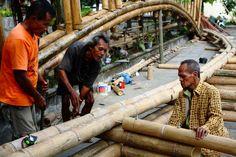 Jembatan Bambu Di Solo Yang Mendunia | ikons.id