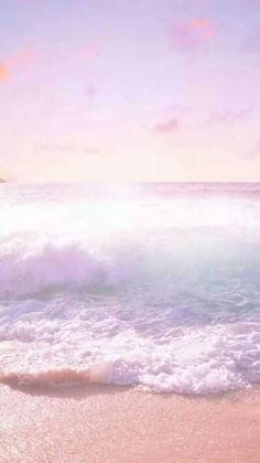 Sky, Sea, Horizon, Ocean, Wave, Atmosphere Pastel Background Wallpapers, Cute Wallpaper Backgrounds, Pretty Wallpapers, Colorful Backgrounds, Iphone Backgrounds, Cute Pastel Background, Cute Background Pictures, Watercolor Wallpaper Phone, Beach Wallpaper