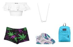"""""""im a stoner"""" by bihhhhh ❤ liked on Polyvore featuring Alexander McQueen, Retrò and JanSport"""