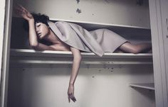 Wang Xiao - Still Dreaming - Vogue China Shoot, 2012  Marcus Ohlsson  www.wmartistmanagement.com  via vogue.com.cn    for #composition #motion