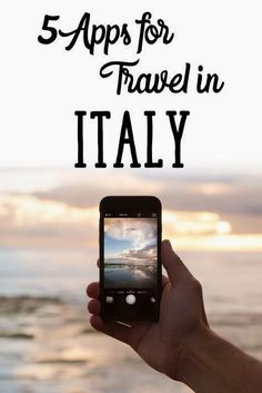 5 Essential Apps for Travel in Italy - the train one is essential! #TravelinItaly