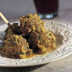 Spanish meatballs with almond …