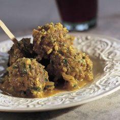 Spanish meatballs with almond …