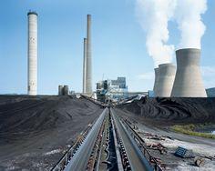 Mitch Epstein, Amos coal fired power station, Winfield, Virgina, USA , 2007/