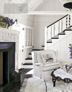 Black and white colour schemes,  Erin Martin Design - Luxe Magazine Press and News